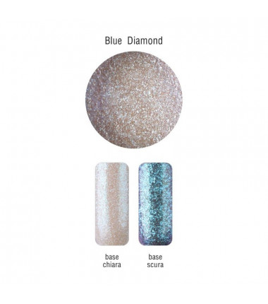 POLVERE DI MICA - BLUE DIAMOND