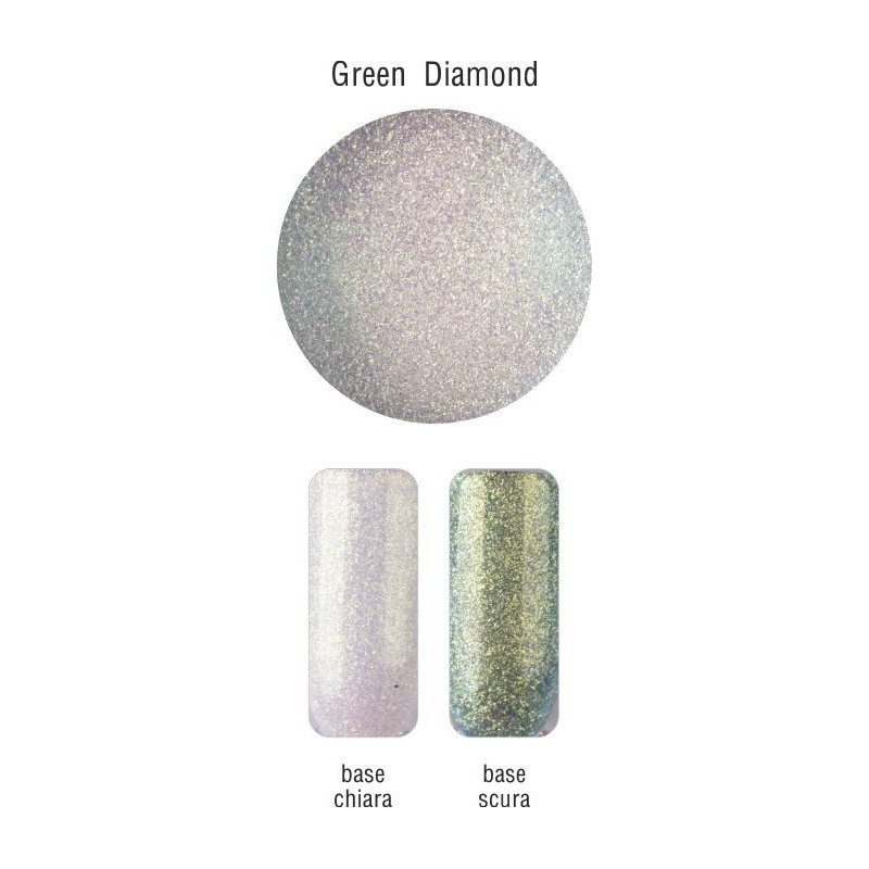 POLVERE DI MICA - GREEN DIAMOND