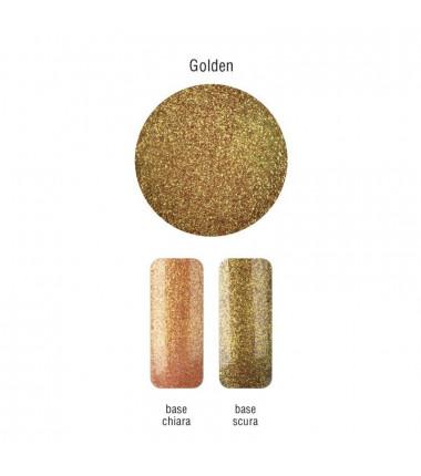 FINE GLITTER - Golden