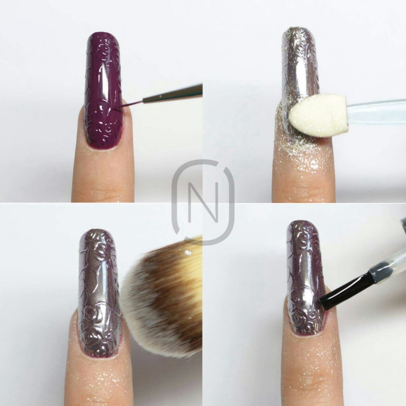CHROME MIRROR  EFFECT PIGMENT