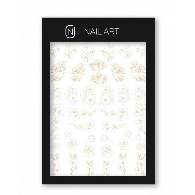 Nail Tattoo Nr.3 Gold