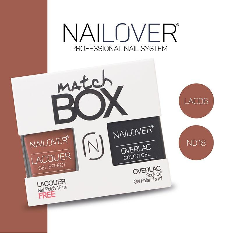 MATCH BOX - LAC06 + ND18
