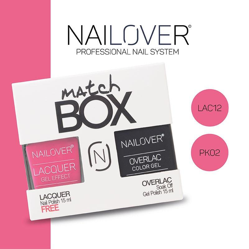 MATCH BOX - LAC12 + PK02