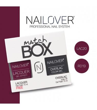 MATCH BOX - LAC20 + RD19