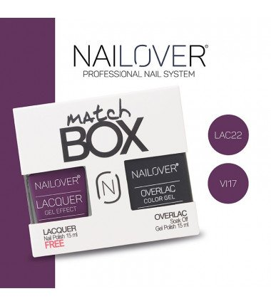 MATCH BOX - LAC22 + OVERLAC  VI17