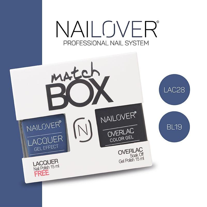 MATCH BOX - LAC28 + OVERLAC  BL19