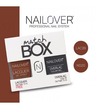 MATCH BOX - LAC39 + OVERLAC  ND20