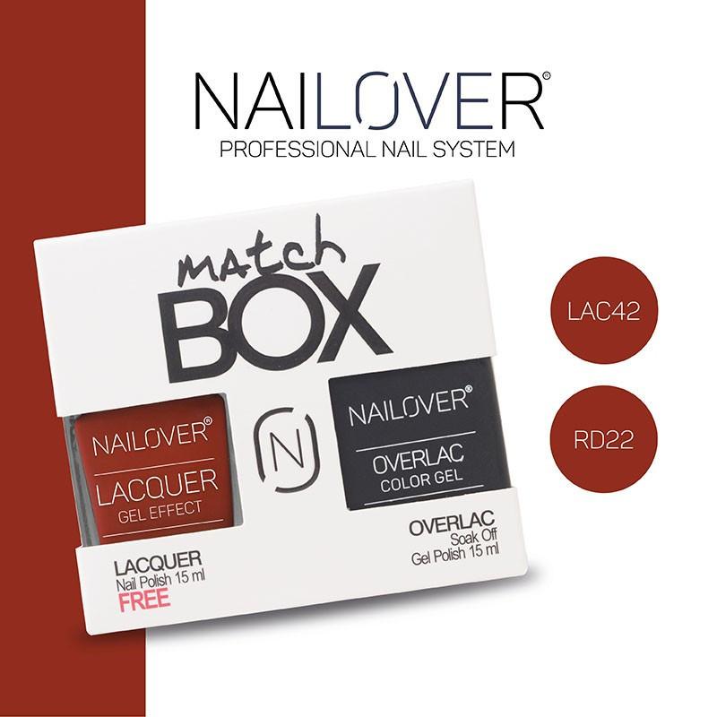MATCH BOX - LAC42 + OVERLAC  RD22