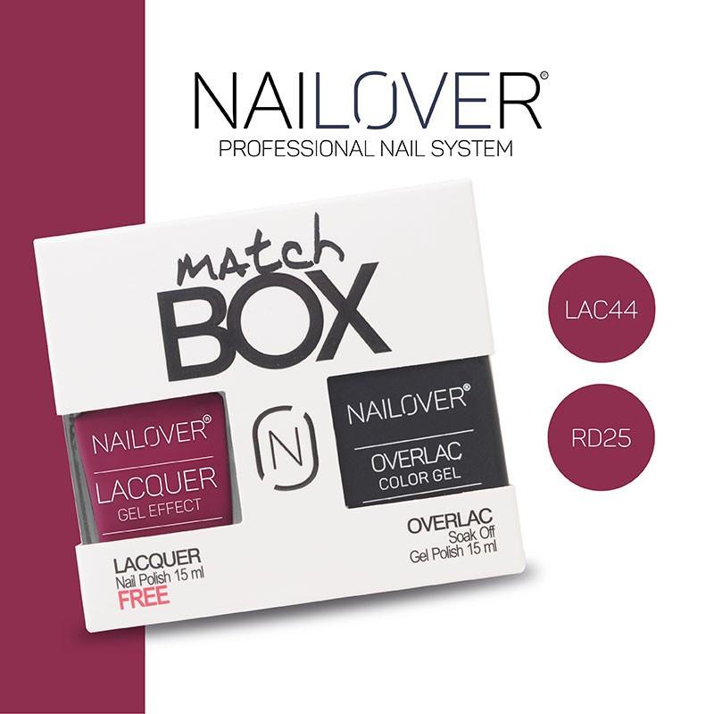 MATCH BOX - LAC44 + OVERLAC  RD25