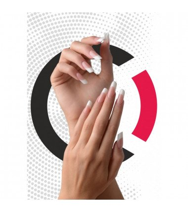 Competition Nail Tips - Clear