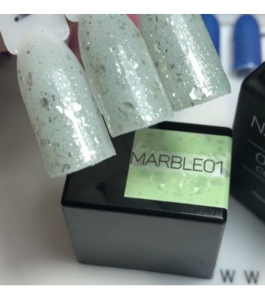 MARBLE  OVERLAC gel soak off  - 15 ml