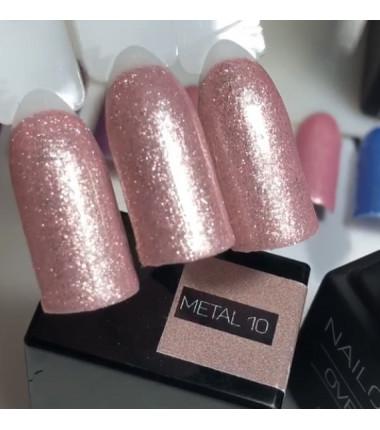 METAL 10  OVERLAC Gel Soak Off   8 ml