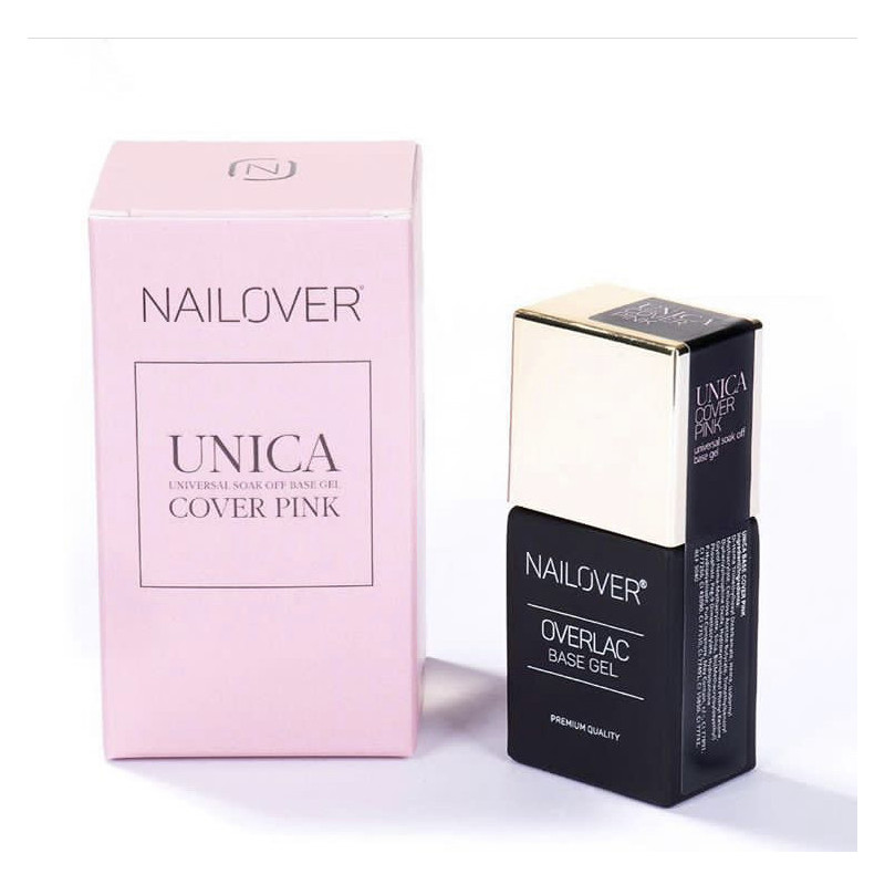 UNICA BASE COVER PINK GEL