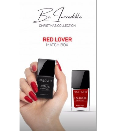 Be incredible - Red Lover - Christmas Collection Limited Edition- Nagellack GRATIS dabei