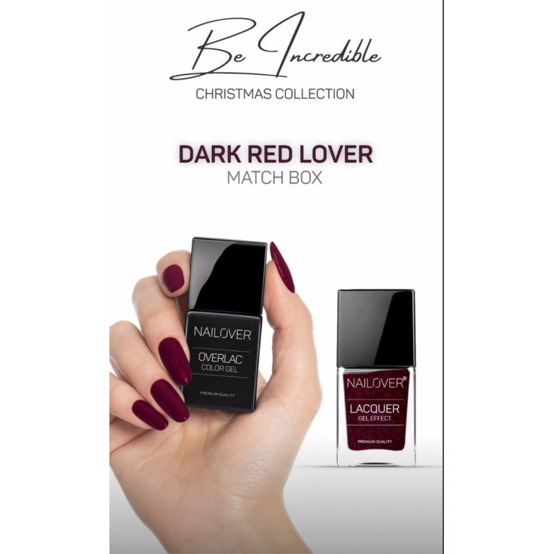 Be incredible - Dark Red Lover - Christmas Collection Limited Edition- Nagellack GRATIS dabei