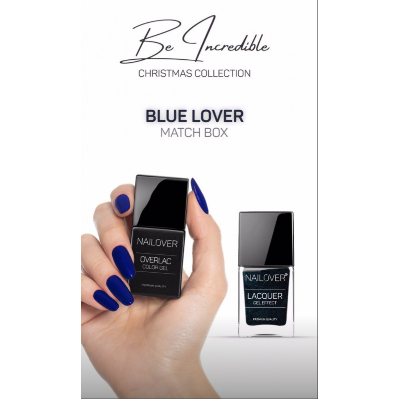 Be incredible - Blue Lover - Christmas Collection Limited Edition- Nagellack GRATIS dabei