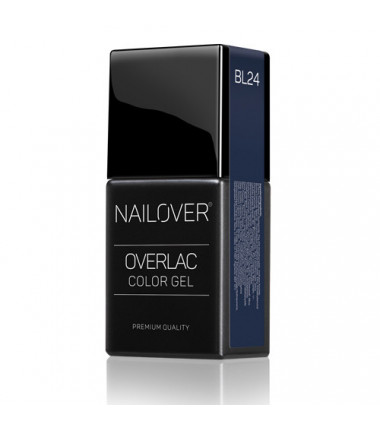 OVERLAC gel soak off  - BL24 - 15 ml