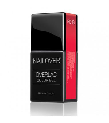 OVERLAC Gel Soak Off - RD16 - 15 ml