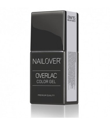 OVERLAC gel soak off - BW15 - 15 ml