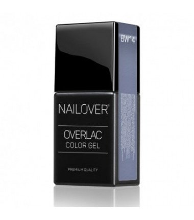 OVERLAC gel soak off - BW14 - 15 ml