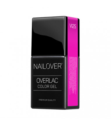 OVERLAC gel soak off - VI25 - 15 ml
