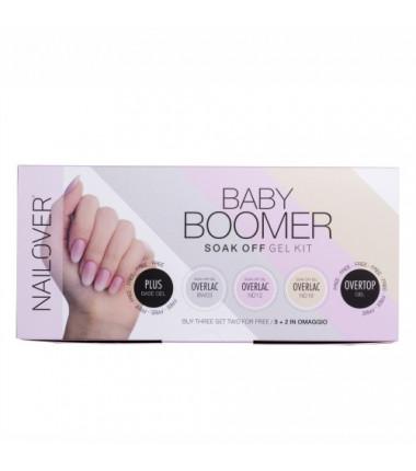 Babyboomer Soak Off Gel Kit