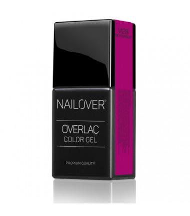 OVERLAC gel soak off - VI28  BE YOURSELF - 15 ml
