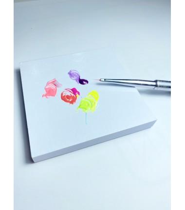 Malblock aus beschichteten Papier - 7,6 cm
