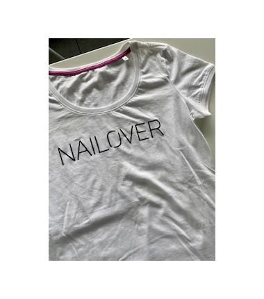 Nailover T-Shirt Weiß