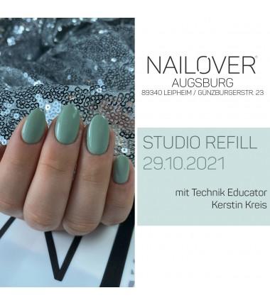 Studio Refill 29.10.2021 mit Kerstin Kreis