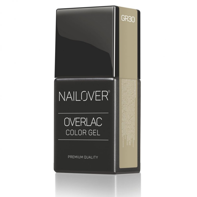 OVERLAC gel soak off - GR30 FREELANCE - 15 ml