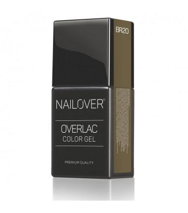 OVERLAC gel soak off - BR 20 FREELANCE - 15 ml