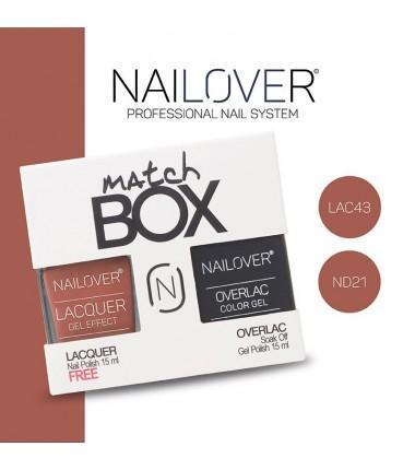 MATCH BOX - LAC43 + OVERLAC  ND21