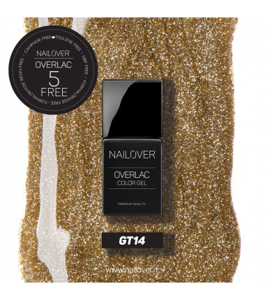 OVERLAC gel semipermanente - GT13 - 15 ml