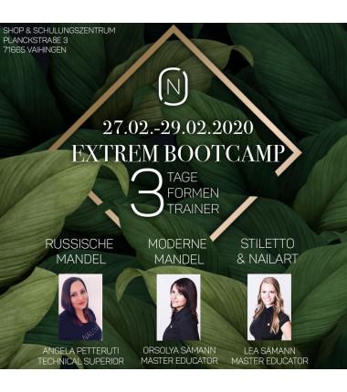 Extrem Bootcamp 27.-29.02.2020 3 Trainer - 3 Extremformen
