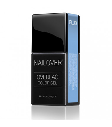 OVERLAC gel semipermanente - BL09 - 15 ml