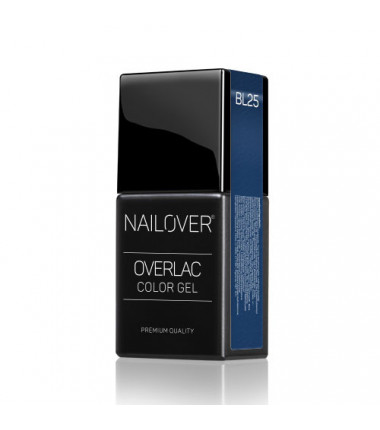 OVERLAC gel soak off  - BL25 - 15 ml