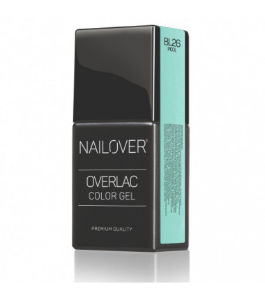 OVERLAC gel soak off  - BL26 POOL - 15 ml